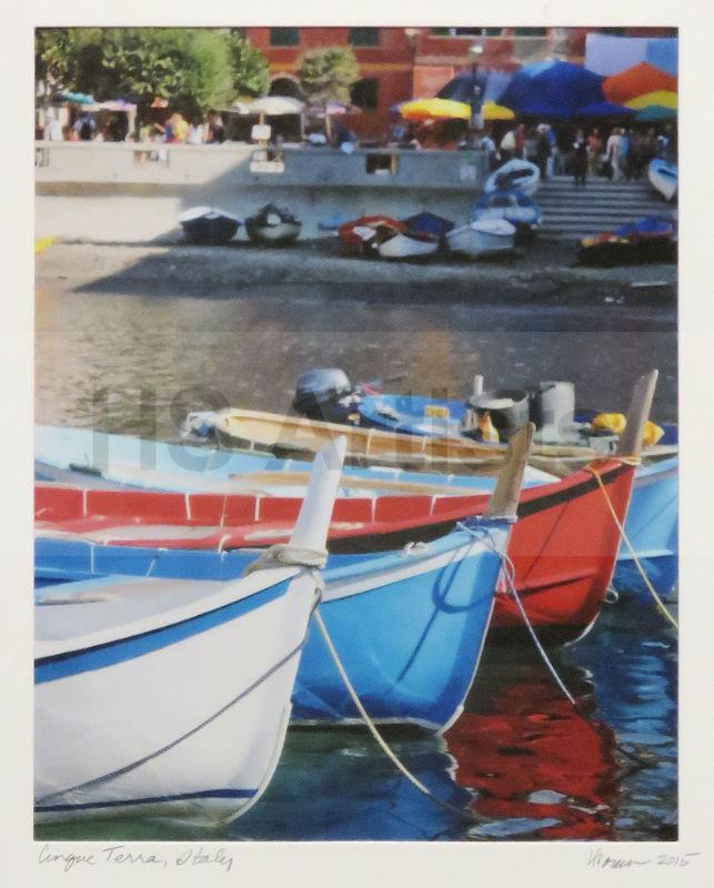 Boats - Cinque Terra