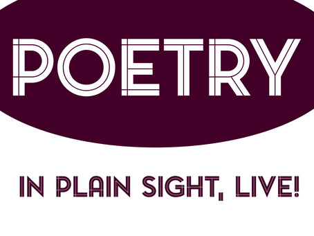 Poetry In Plain Sight, Live!