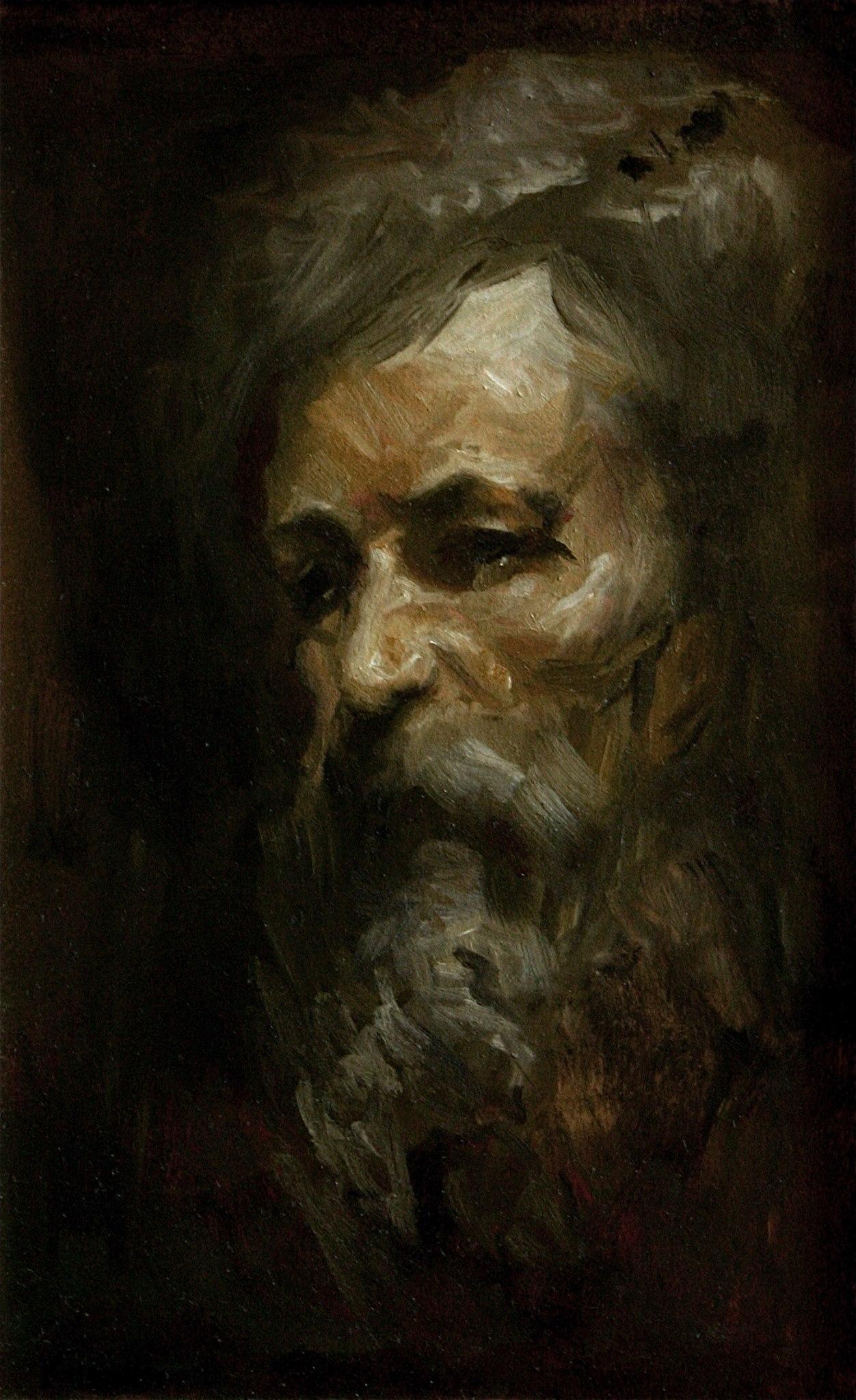 Moses (Head Study)