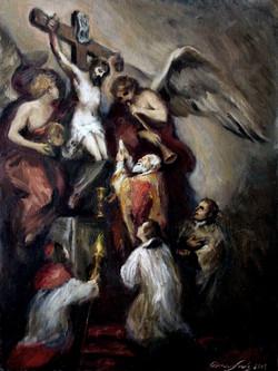 The Vision of St. Philip Neri