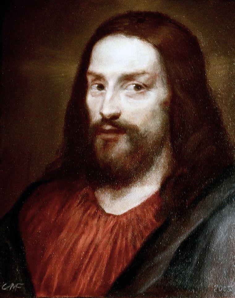 Christ Rezeptor Mundi (study)