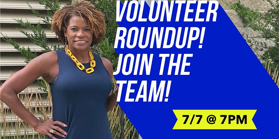 Volunteer Round Up