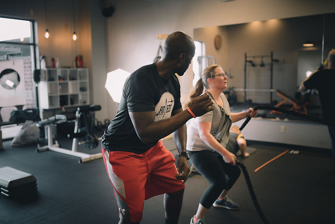 Liberty township personal trainer