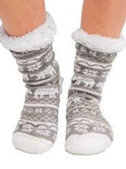 Plush Slipper Sock