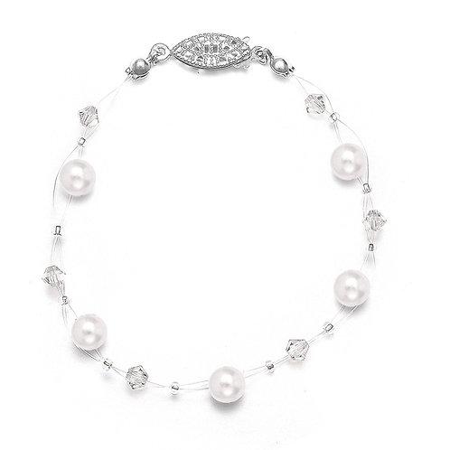 Illusion Pearl Bracelet
