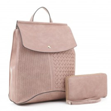 Convertible Backpack with Wallet