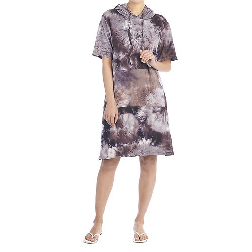 At Ease Tie Dye Dress