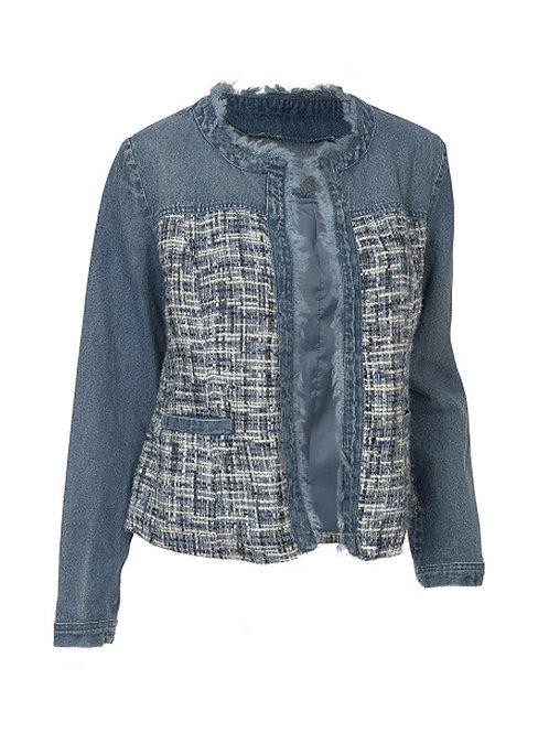 Denim Boucle Jacket