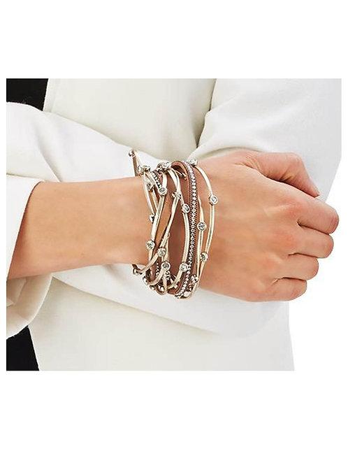 Crystal Wrap Magnetic Bracelet