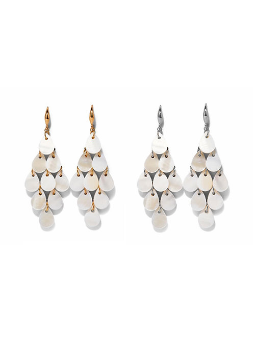 Mother of Pearl Cascade Earring
