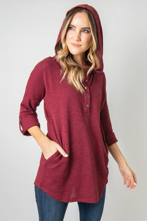 Woodland Hooded Top