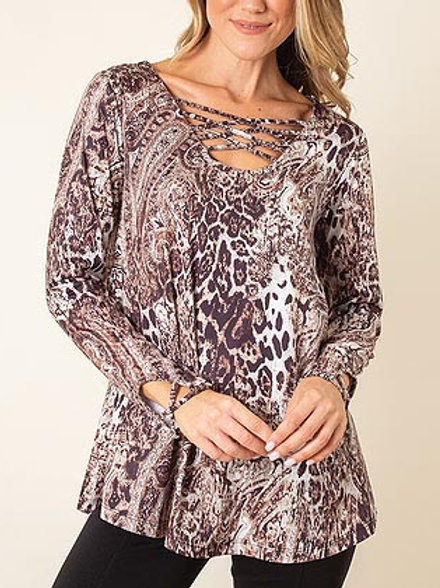 Wild Instinct Criss Cross Top