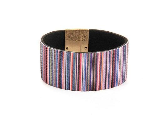 Magnetic Striped Bacelet