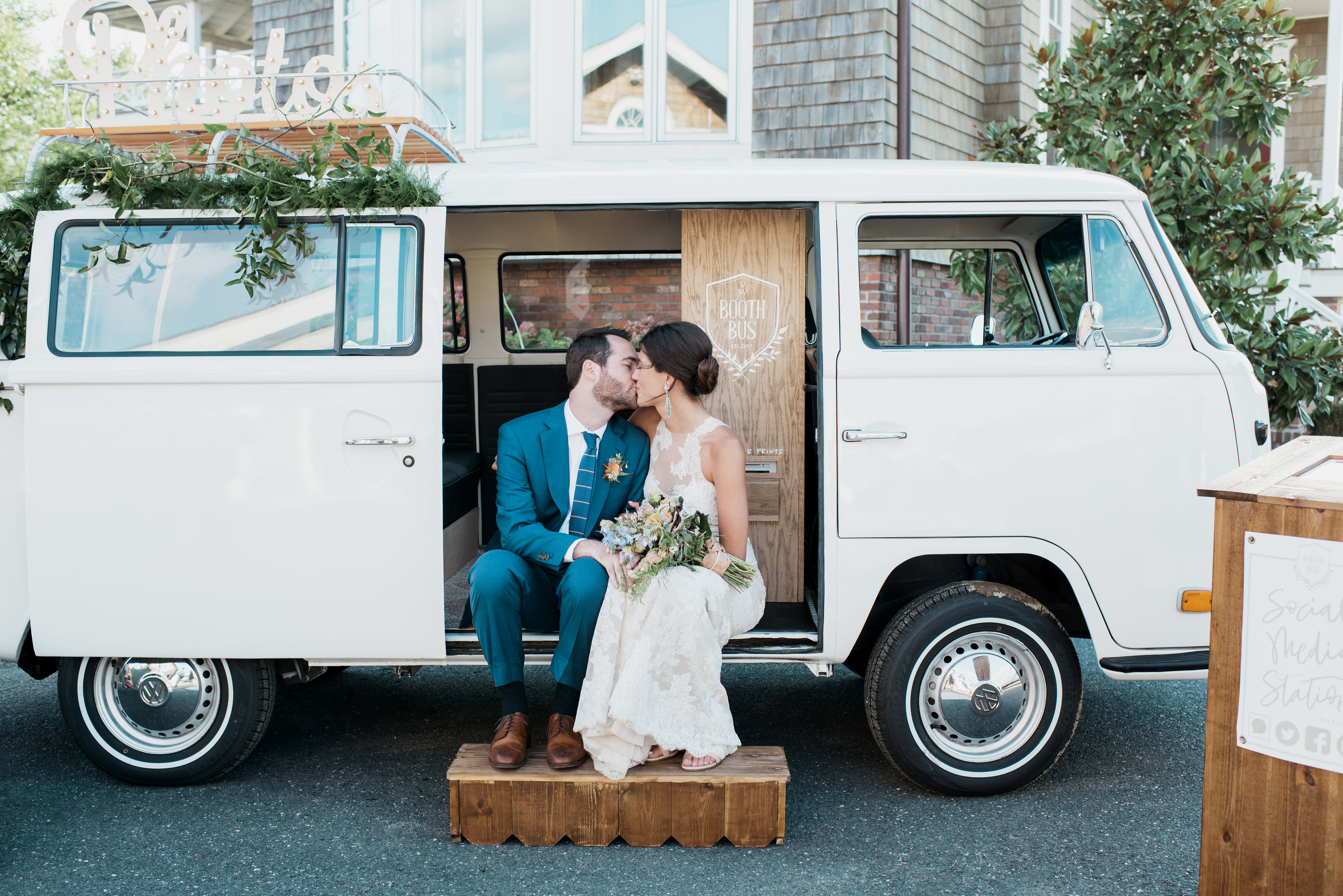 Vw bus photo booth pricing