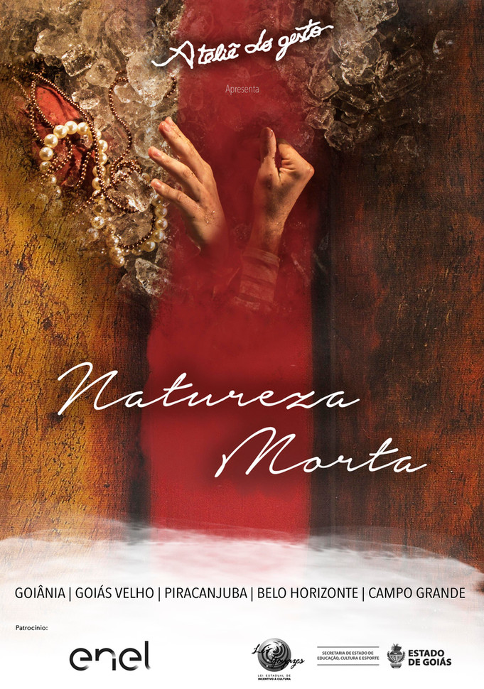 """""""Natureza Morta"""" touring in 5 brazilian cities and 1 Workshop with the group."""