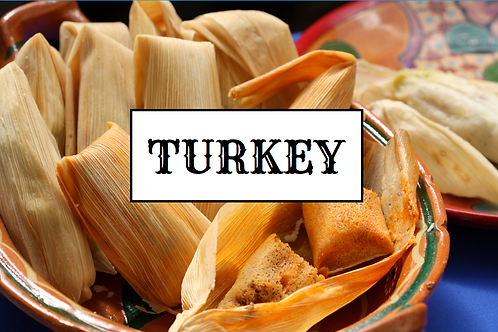 Turkey and Dressing Tamales