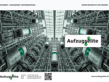 Neuer 4-Seitiger Prospekt für Aufzugselite GmbH