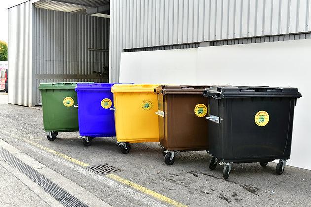 Kunststoffcontainer 770 Liter