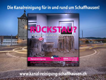 Kanalreinigung in und rund um Schaffhausen - kanal-ratte.ch