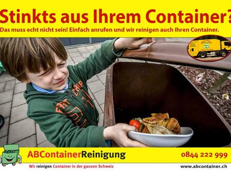 Flyerdesign für Abcontainer.ch