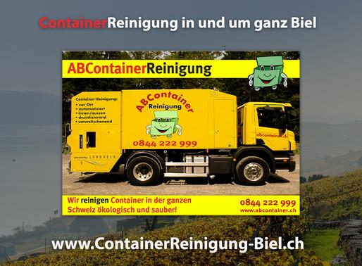 ContainerReignigung Biel - ABContainer24.ch