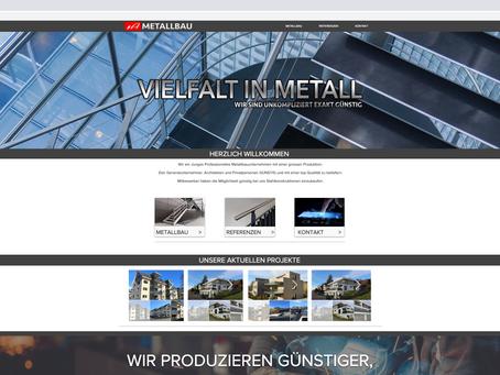 Neuer Webauftritt für 1a Metallbau GmbH