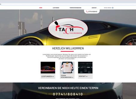 Neuer Webauftritt für TACH -LACKIERUNGEN