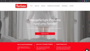 Neuer Webauftritt für Bartuma Vorhangservice Altendorf SZ