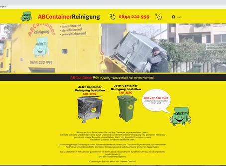 Neuer Webauftritt für ABContainer.ch - Tobel TG - Schweiz