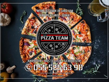 Flyerdesign Pizza Team 2020
