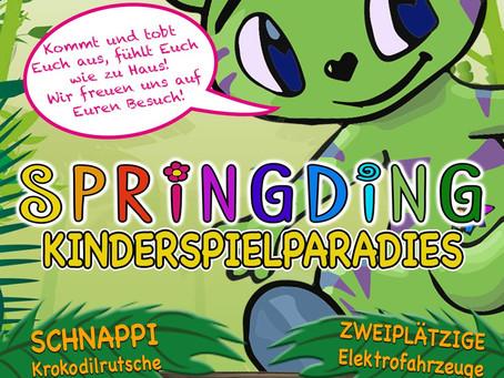Flyerdesign 2016 für Springding Reichenburg