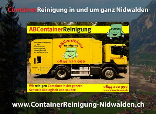 ContainerReinigung Nidwalden - Abcontainer24.ch