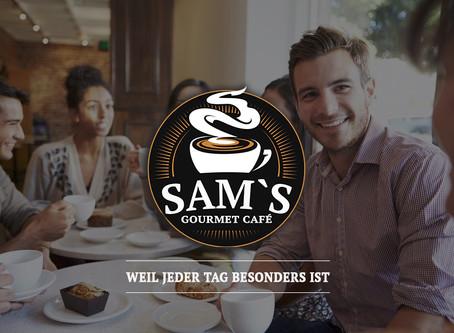 Grafik & Design für SAM`S Gourmet Cafe in 8645 Jona