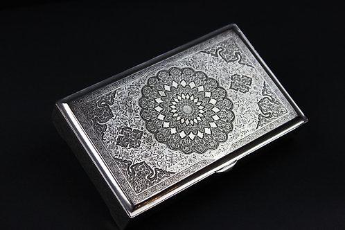 Silberdose, Persien, um 1900.