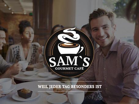 Logodesign Sams Gourmet Cafe Jona 2020