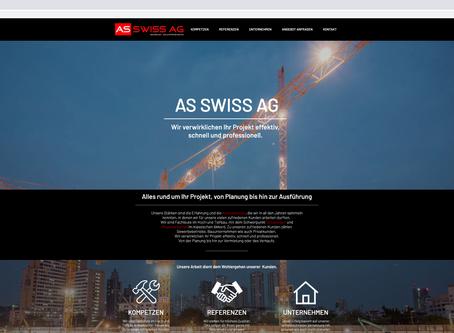 Neuer Webauftritt für AS-SWISS AG SCHNINDELLEGI
