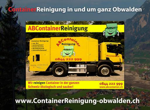 ContainerReinignung Obwalden - ABContainer.ch