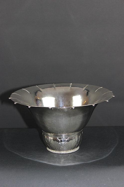 Art-Deco Silberschale