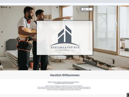 Neuer Webauftritt für Bartuma & Partner Bauservice GmbH