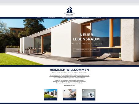 Neuer Webauftritt für Bartuma.ch