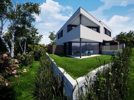 Wohlen AG: Neues Doppeleinfamilienhaus