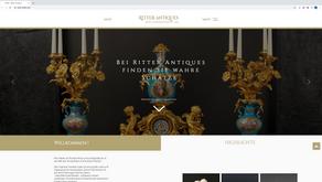 Neuer Webauftritt mit Shop für Ritter Antiquitäten Überlingen