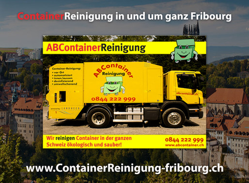 ContainerReinigung Fribourg - Abcontainer24.ch