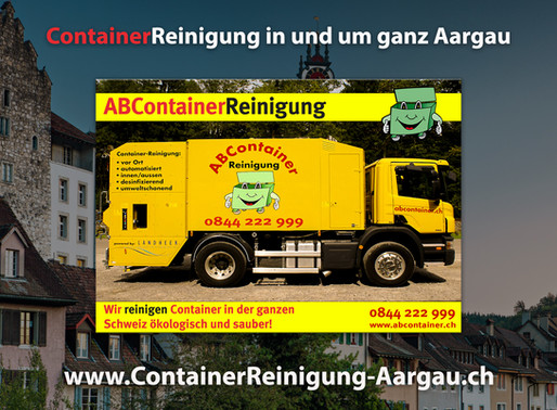 ContainerReinigung Aargau - Abcontainer24.ch