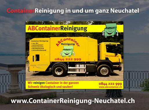 Container Reinigung Neuchatel  ABContainer24.ch
