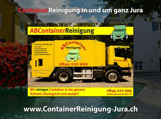 ContainerReinigung Jura ABcontainer24.ch