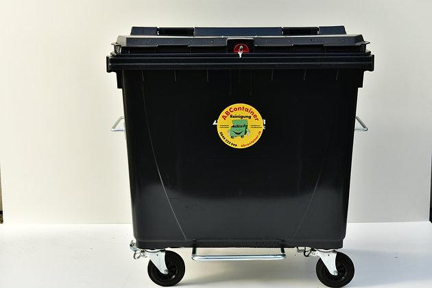 Kunststoffcontainer 770 Liter mit Fusspedal