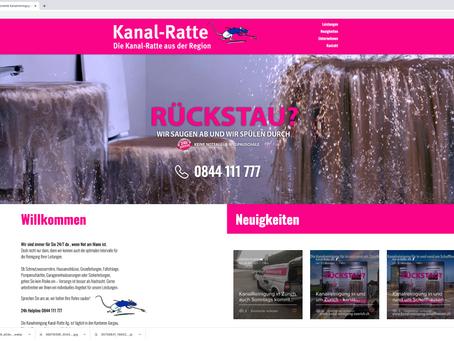 Neuer Webauftritt für Kanal-Ratte.ch