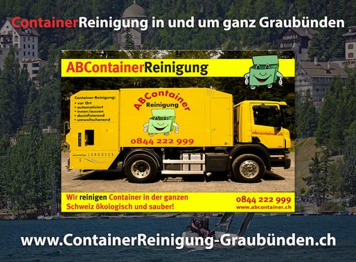 ContainerReinigung Graubünden - ABContainer24.ch