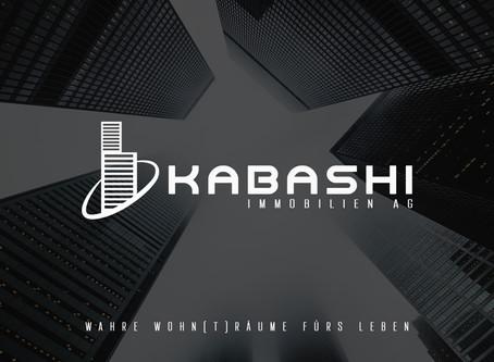 Grafik & Design für KABASHI Immobilien AG -8722 Kaltbrunn